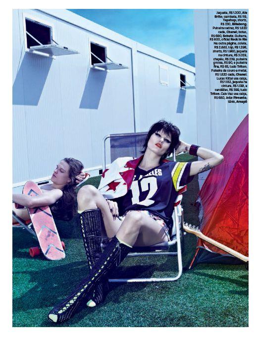 """Vogue Brasil Setembro 2013   Isabeli Fontana em \""""Onda Lisérgica\"""" por Zee Nunes"""