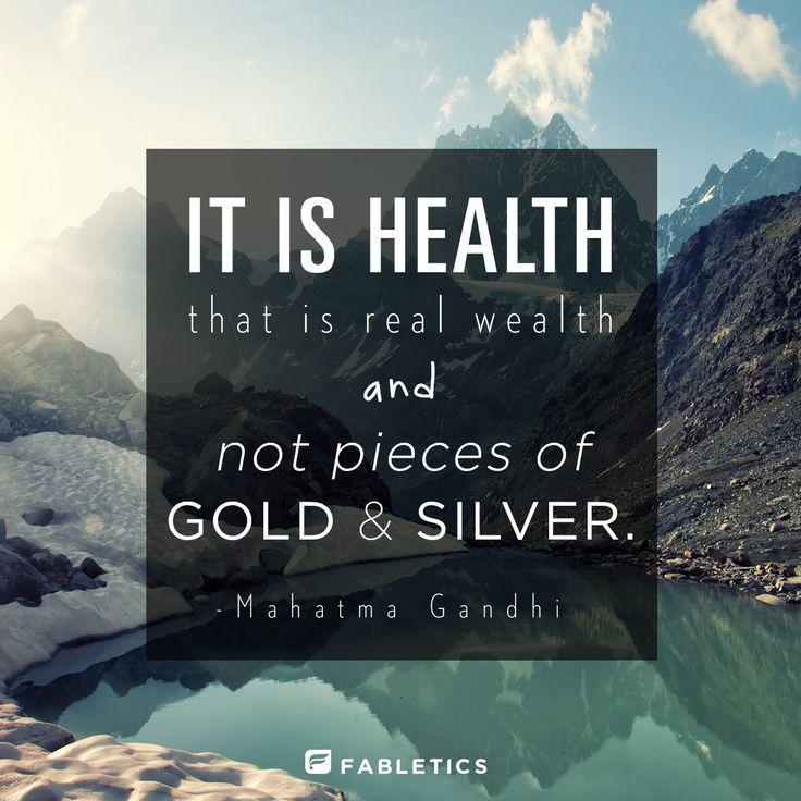 Gandhi on health. #quotes