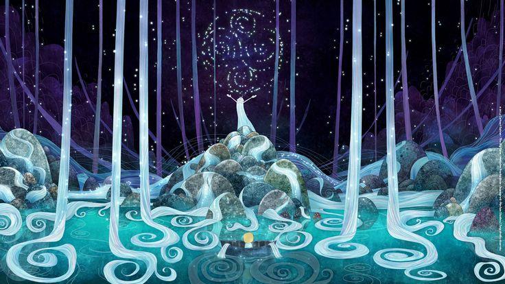International Worldwide Literature|Art|News ||Photo (3 sur 17) du film Le Chant de la Mer, avec David Rawle, Fionnula Flanagan