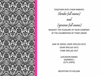 70 best Weddings! images on Pinterest Bachelorette party invites - microsoft office invitation templates