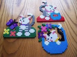 Swet Kittens / Hama Perlen - perler beads - Bügelperlen