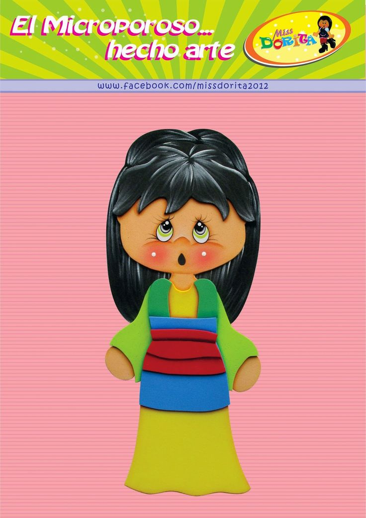 Miss Dorita: Molde Princesas