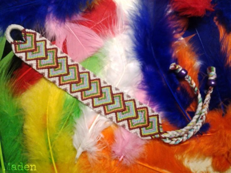 In love with bright feathers!