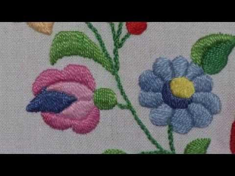 Hungarian Art - Embroidery - YouTube