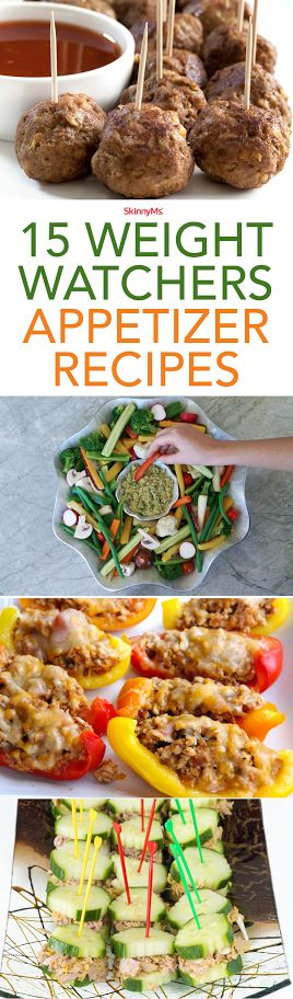 Try these 15 Weight Watchers Appetizer Recipes!