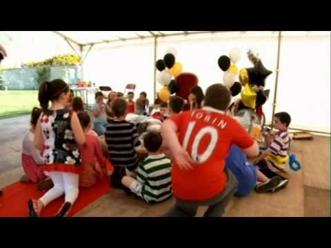 A video including one of my little wish children who wished to be a King for the Day