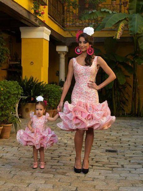 Vestidos cortos de flamenca