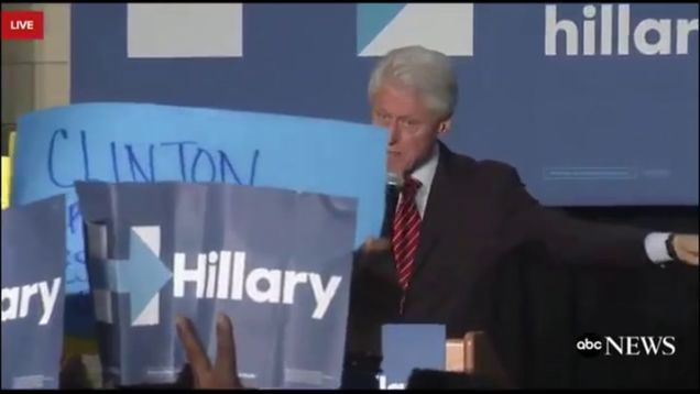 Bill Clinton Will Tell You a Story About Another Place Where Black Lives Matter: Africa -- UGH.....Bill crashing and burning with his response to BLM protesters - the white saviour complex he's projecting is nauseating to say the least.  It is scary that a past president can be so unaware of the power structures and systems in place that work against POC....smh...