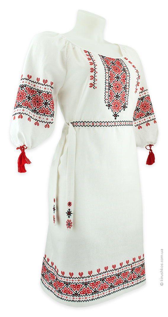 Embroidered wedding dress