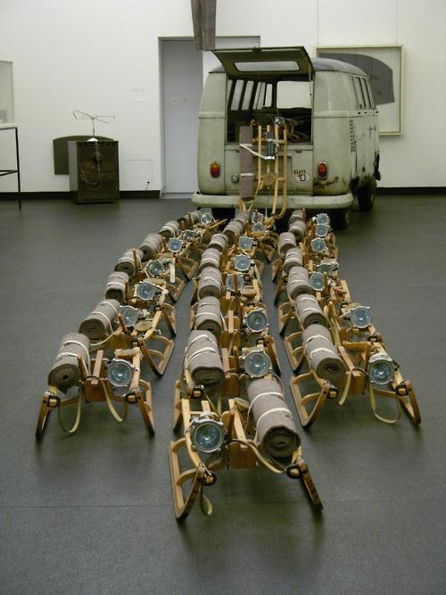 Joseph Beuys (1921-1986) - The Pack (das Rudel), 1969