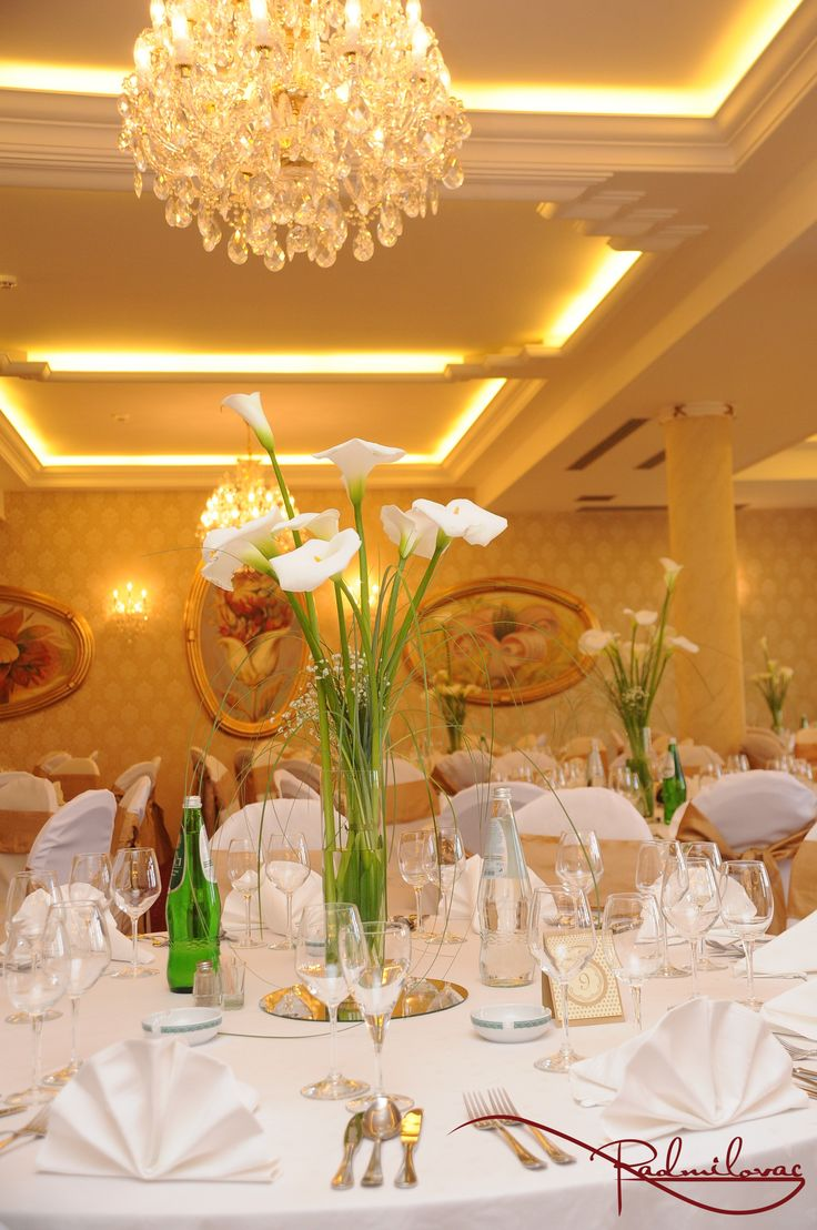Kristalna sala  #radmilovac #weddings #celebrations #kale #cvece #dekoracije #decorations #calla