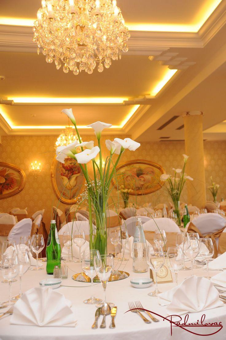 Kristalna sala  #radmilovac #weddings #celebrations #kale #cvece #dekoracije #decorations #calla