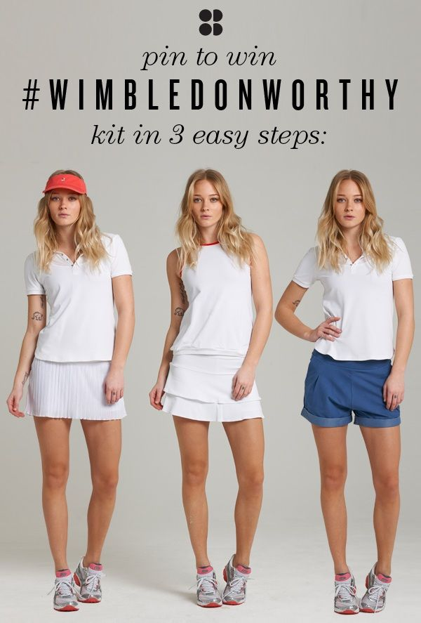 Sweaty Betty #Wimbledonworthy competition