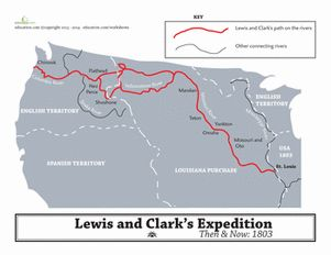 17 best images about lewis clark on pinterest thomas jefferson paper bags and. Black Bedroom Furniture Sets. Home Design Ideas