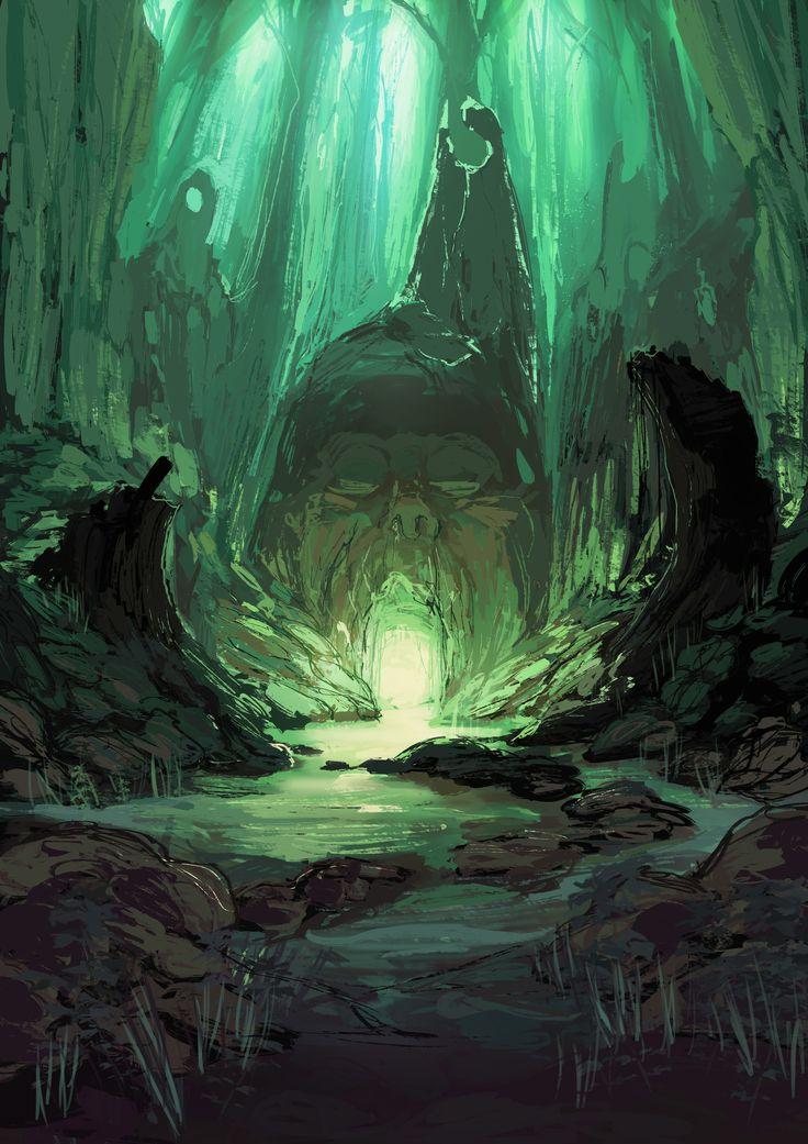 ArtStation - A Secret Shrine, Conor Sean Sullivan