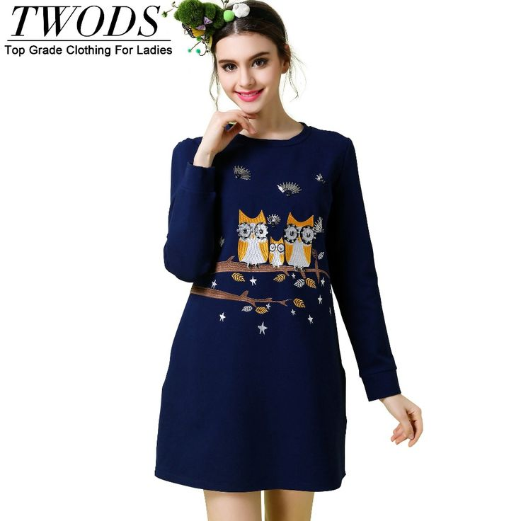 S- 5XL Casual Embroidery Long Sleeve Dress O-neck Short Mini Vestidos Mujer Solid Color Blue Oh just take a look at this! http://www.artifashion.net/product/s-5xl-casual-embroidery-long-sleeve-dress-o-neck-short-mini-vestidos-mujer-solid-color-blue/ #shop #beauty #Woman's fashion #Products
