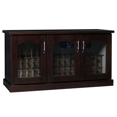 Le Cache Contemporary Credenza Chocolate Cherry #8684  sc 1 st  Pinterest & 26 best Wine Cabinets / Furniture images on Pinterest | Wine ...