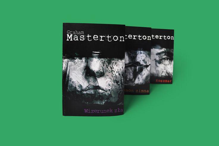 Graham Masterton: Book Cover on Behance