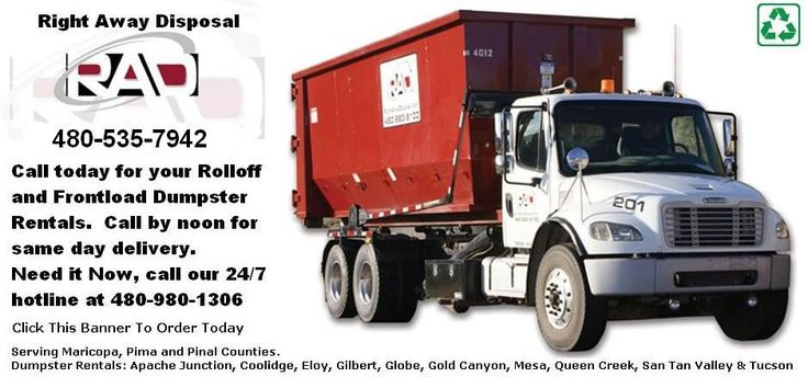 22 Best Gilbert Dumpster Rentals Images On Pinterest