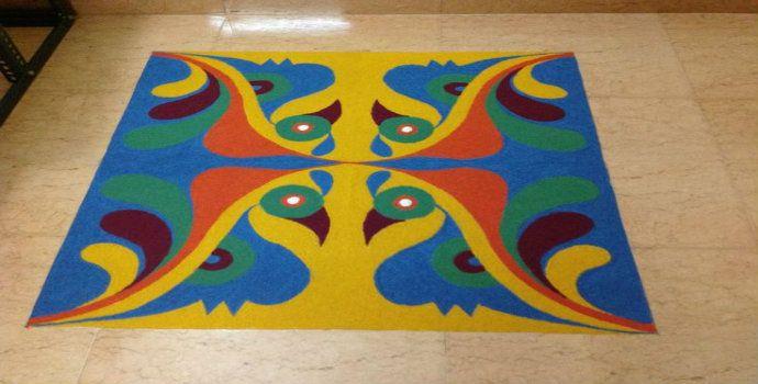 Best Rangoli Designs – 40 Best Rangoli Diwali Design – Part 2 | LetsCreateCrafts