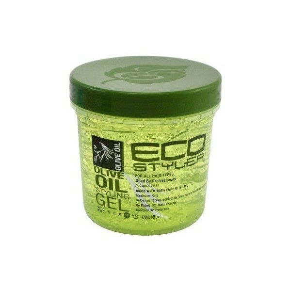 Eco Style Gel, Olive Oil, 16 oz ($3.92) ❤ liked on Polyvore featuring beauty products, hair and filler