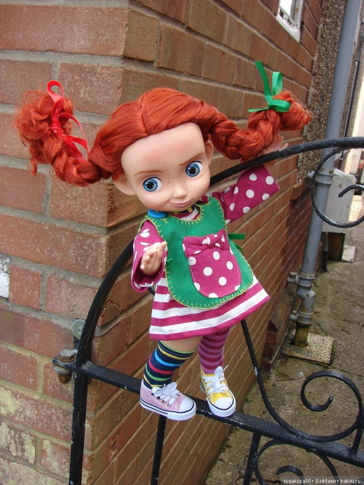 Рыжеволосая Мерида . / Куклы Принцессы Дисней, Disney Princess от Disney Animators / Бэйбики. Куклы фото. Одежда для кукол