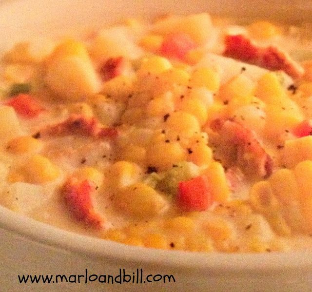 Marlo and Bill: Slow Cooker Corn Chowder