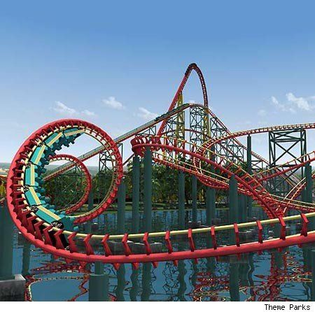 Best Awesome Roller Coaster Images On Pinterest Roller - Pedal powered skycycle rollercoaster japan amazing
