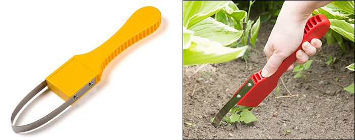 Hand loop weeder use it for weeding trenching and for Gardening tools for weeding