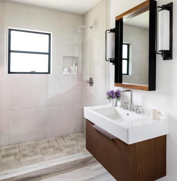 Before And After Bathroom Remodels On A Budget Hgtv Master Bathroom Makeover Reveal Modern Farmhouse Bathroom 35 Stylish Small Bathroo Desain Modern Shower