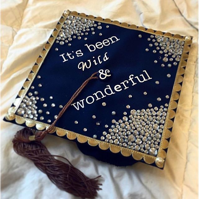 "53 Likes, 1 Comments - WVU College of B&E (@wvucobe) on Instagram: ""Hasn't it, though?! We love @ericalynnmarie's decorated mortar board. Congratulations! #WVUgrad"""