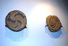 Objetos encontrados en el Castro de Santa Tecla,Galicia.