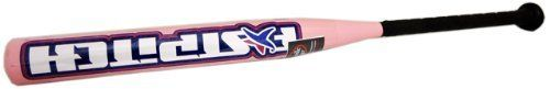 Louisville FP79M TPS Fast Pitch Pink Softball Bat by Louisville Slugger. $26.99. The Louisville(r) FP79M TPS(r) fast pitch -10.5 softball bat boasts a youth design with 2 1/4 inch barrel. The durable  construction includes a rolled end and a synthetic grip.. Save 79% Off!