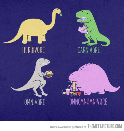 Types of DinosaursFunny Things, Omnomnomnivor, Laugh, Funny Pictures, Funny Stuff, Humor, Dinosaurs, Nom Nom, Giggles