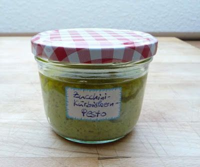 Selbstgemacht: Zucchini-Kürbiskern-Pesto