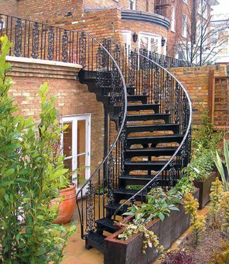 Best 25 External Staircase Ideas On Pinterest Spiral 400 x 300