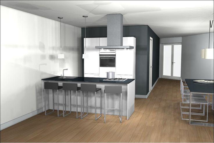 157 beste afbeeldingen van eiland keukens - Keuken kookeiland ontwerp ...