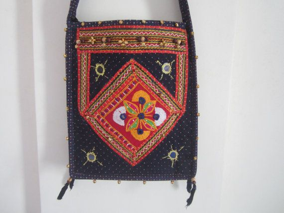 Ethnic Indian bag shoulder crossbody bag by elephantsofindia