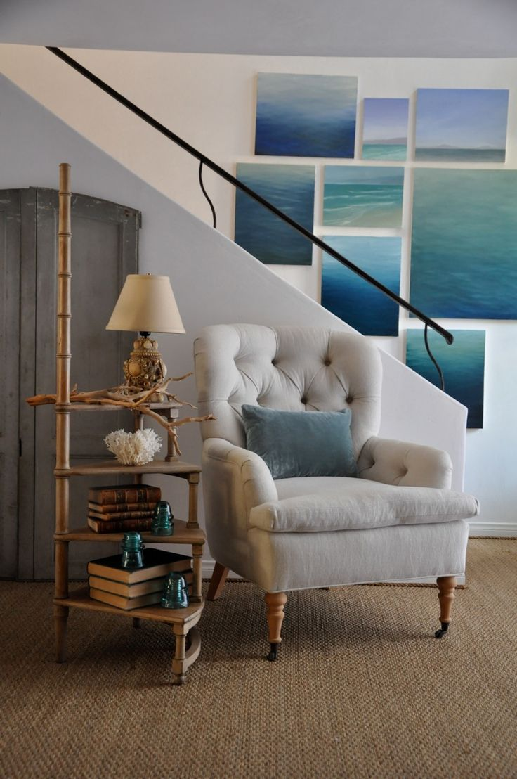 water canvas wall