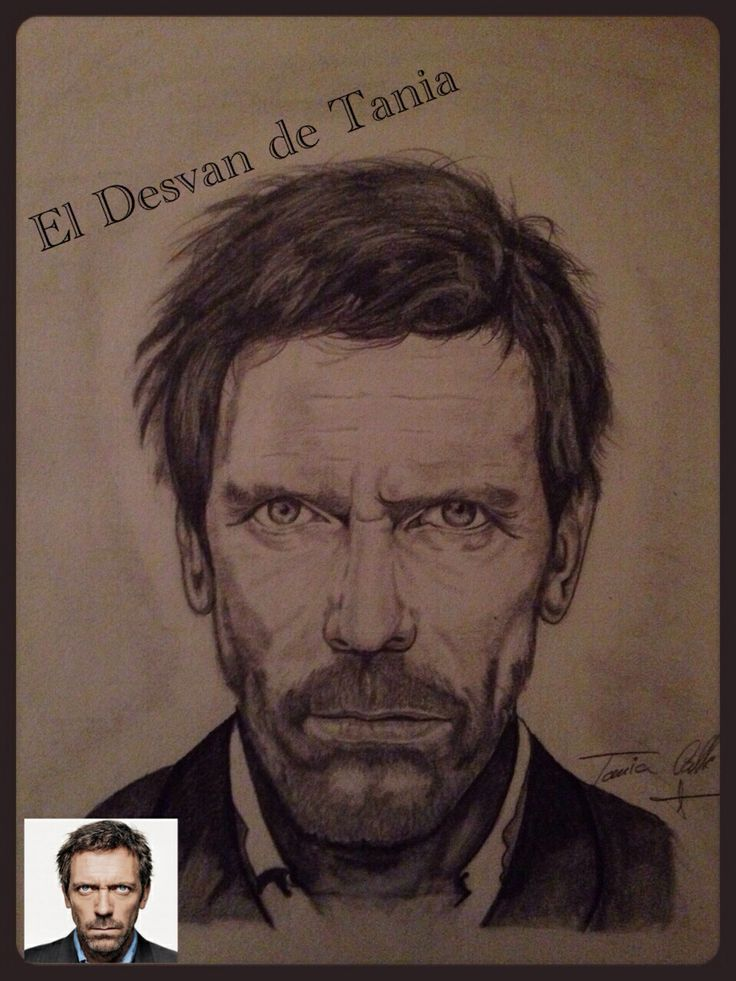 Dr.House Hugh Laurie a grafito! Eldesvandetania.blogspot.com Facebook: el desvan de Tania  Twitter @El Desván De Tania
