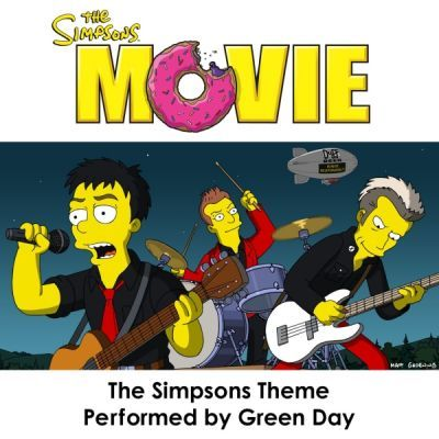Green Day Pictures: The Simpsons Movie