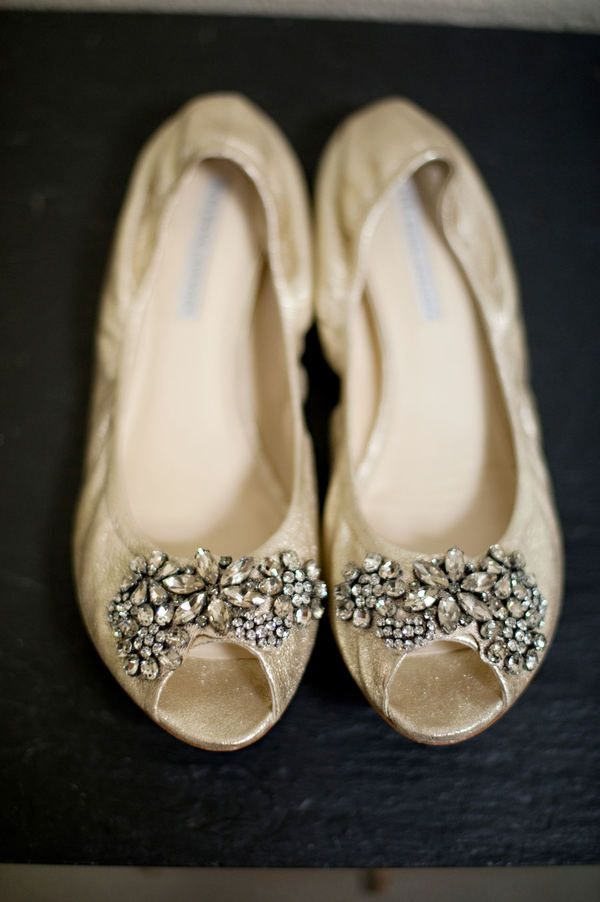 Sparkly Wedges Wedding