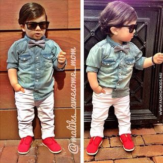 What a cute lil' hipster! The coolest dude at the park we bet! The Parker Project #fashionkids #baby #fashion