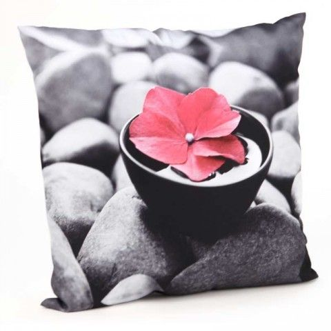 coussin zen fleur zen flower pillow flower pillows zen flower zen attitude