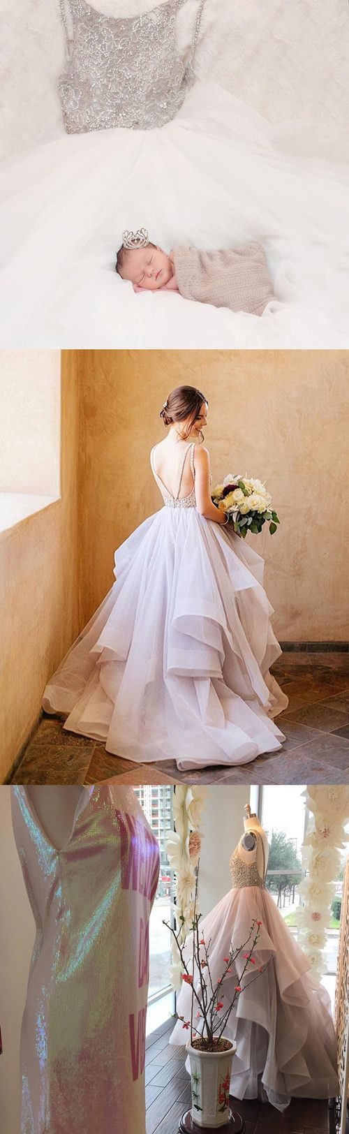 lovely picture! you little baby also love this wedding gowns