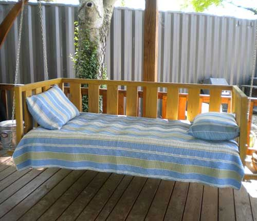 A Sleeping Porch Is All About Comfort