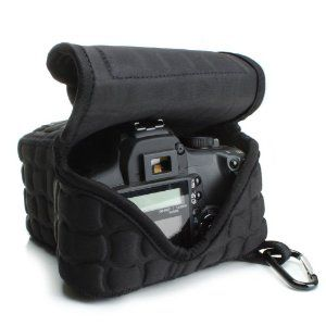Amazon.com: USA Gear Extremely Padded, Redesigned FlexARMOR X Digital SLR Sleeve Case for CANON EOS Rebel T5i , T4i, T3i , T3 , 100D , 700D , 6D , SL1 & More DSLR Cameras **Includes Bonus Cleaning Brush**: Camera & Photo