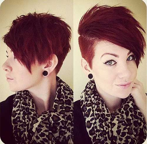 20 Cute Shaved Hairstyles For Women: 15 Cute Quick Pixie Haircuts
