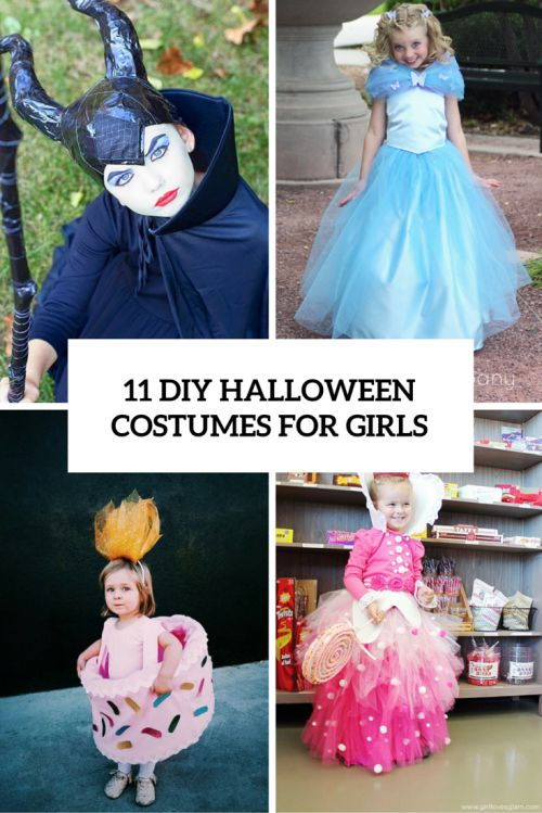 awesomely cute halloween costumes for girls you can make yourself - Halloween Costumes That You Can Make Yourself