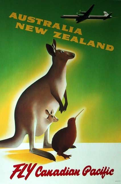 Australia New Zealand by Canadian Pacific